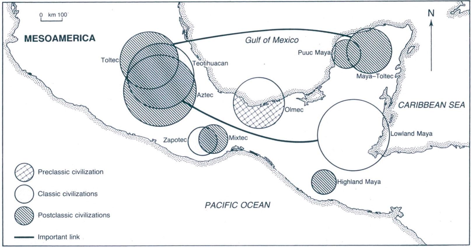 Civilizations Map