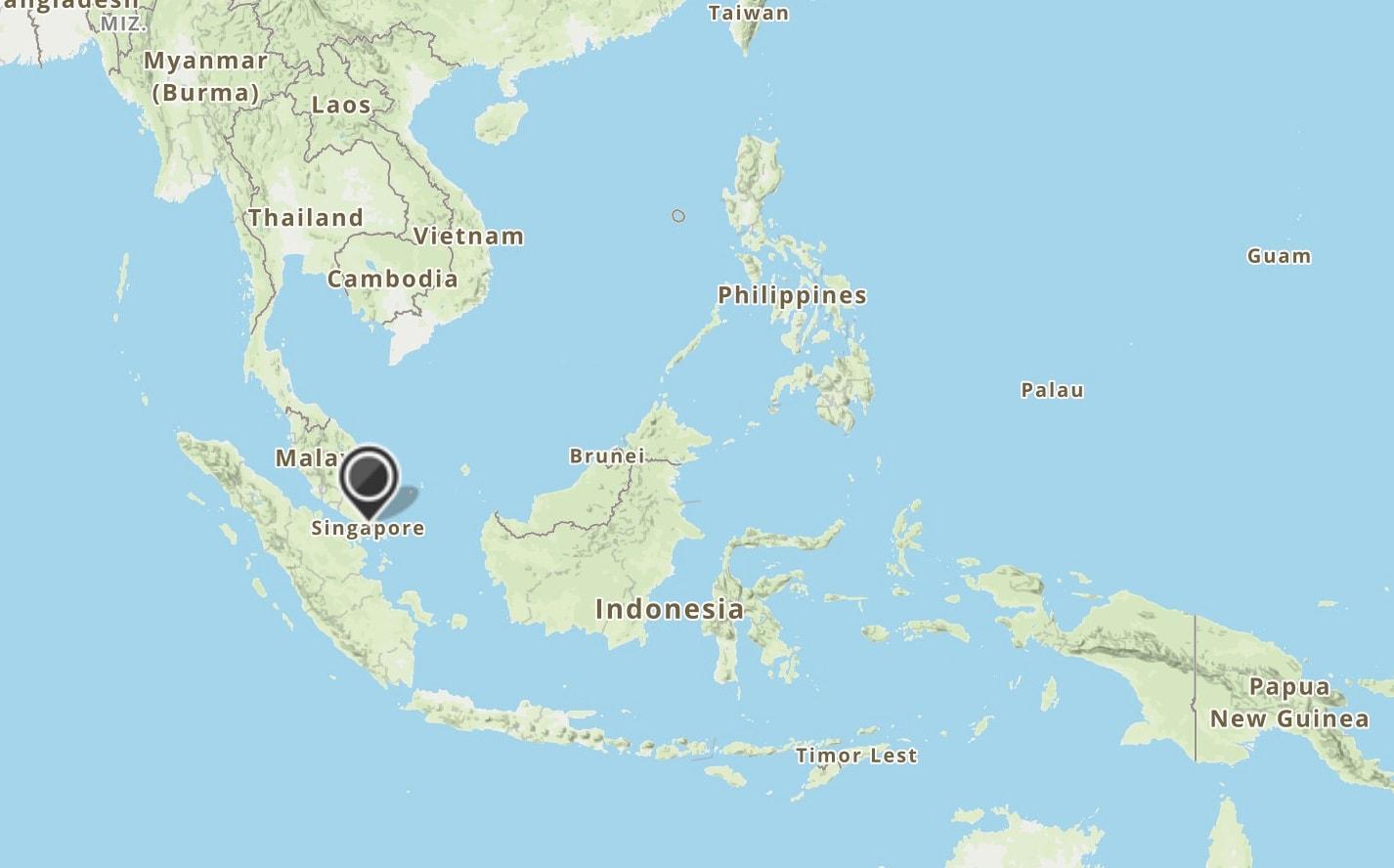 map Singapore