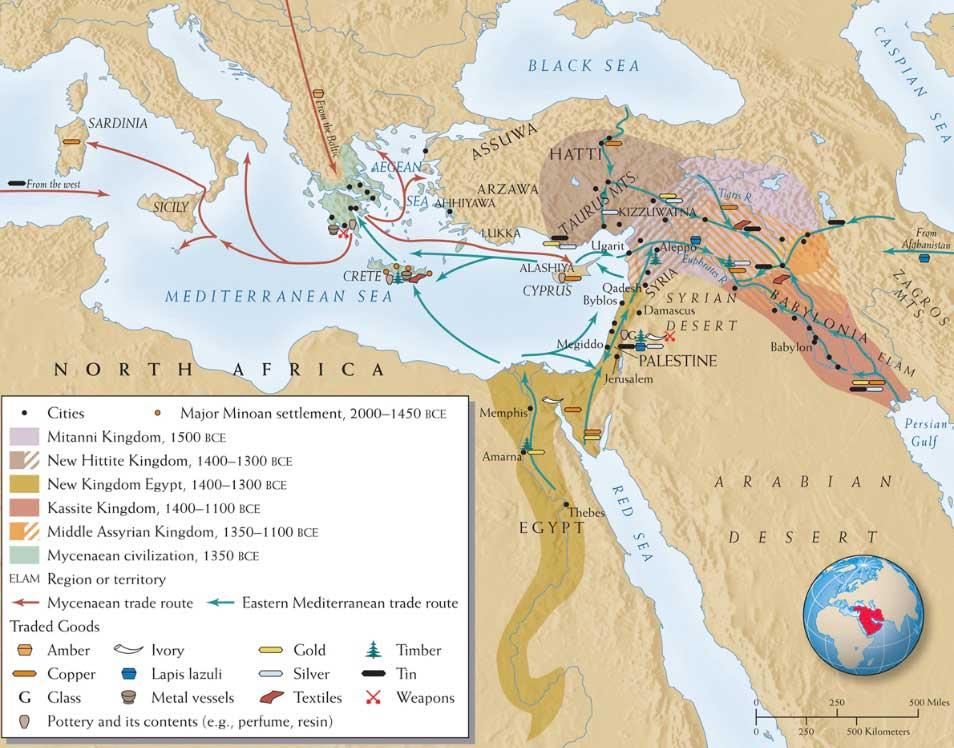 Mesopotamia trade routes - sacred geographies